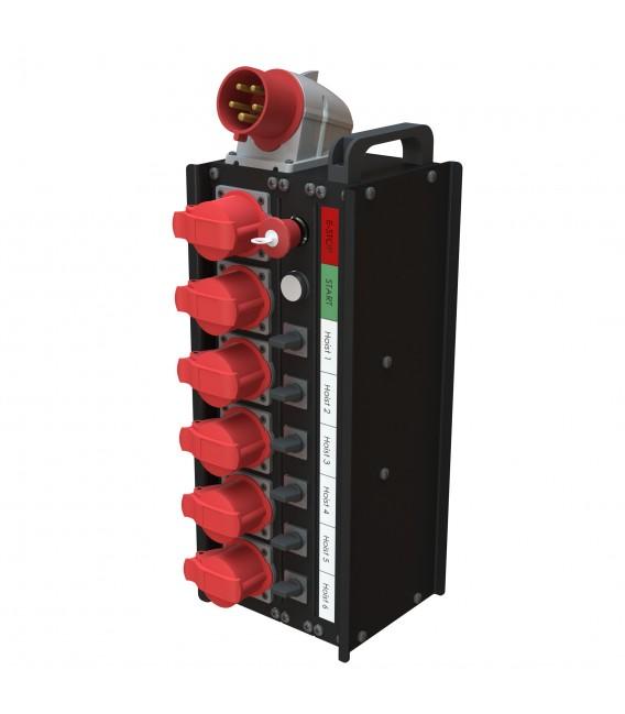 Hoist controller - 6 channels - Local control
