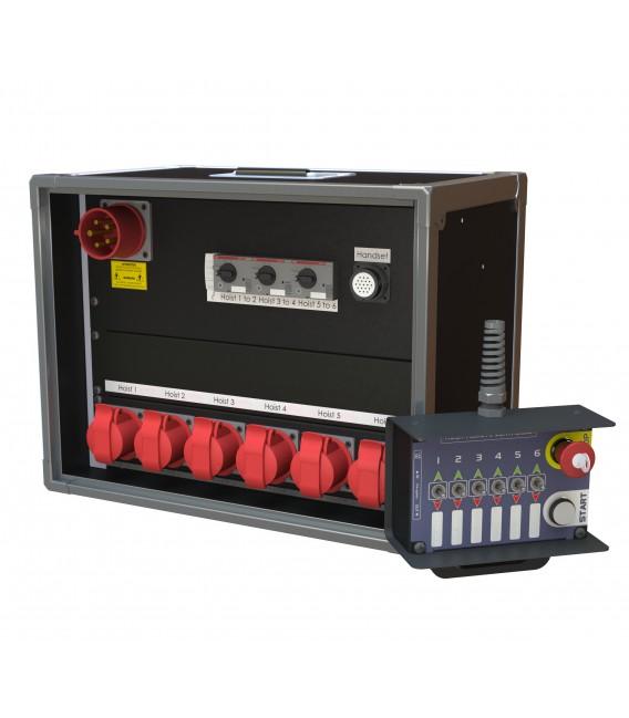 Hoist controller - 6 channels - Remote control
