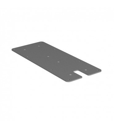 Mounting plate, flat - POI P-10 and Q-10