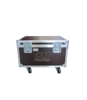 Flight Case pour 4x CM Prostar