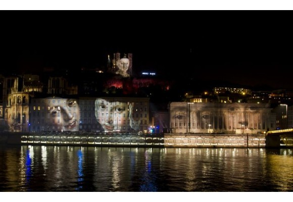 Light Festival 2015 with SGM in Lyon
