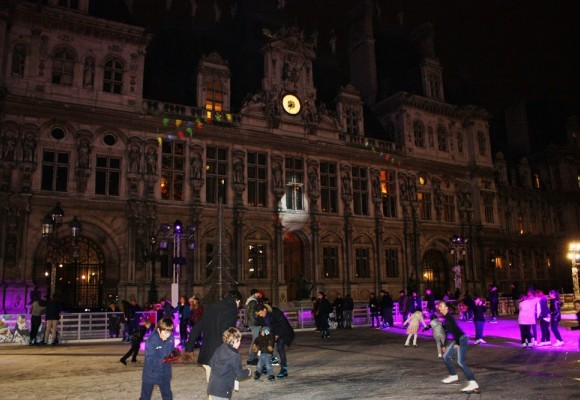 À la patinoire de l'Hotel de Ville de Paris, les G-Spots n'ont pas froid aux yeux