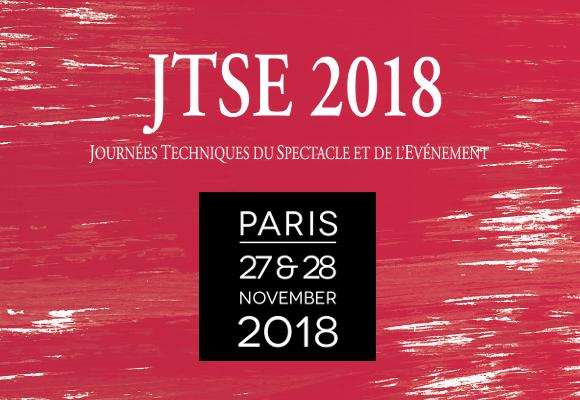 Venez nous rendre visite aux JTSE 2018 !