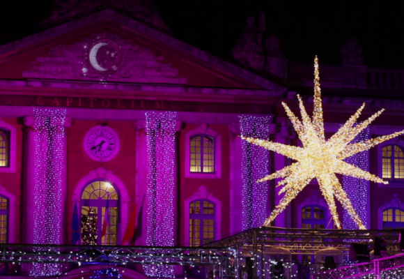 SGM illuminates the Christmas Market of Toulouse
