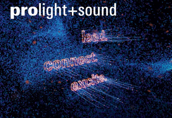 Rendez-vous au Prolight + Sound 2019 du 2 au 5 avril !